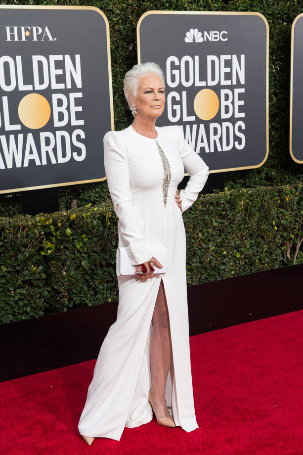 Jamie Lee Curtis 2019, Golden Globes.