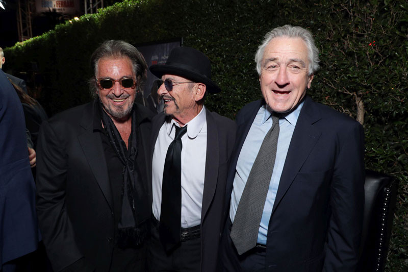 Al Pacino 2020, Robert DeNiro, Joe Pesci. The Irishman Premier.