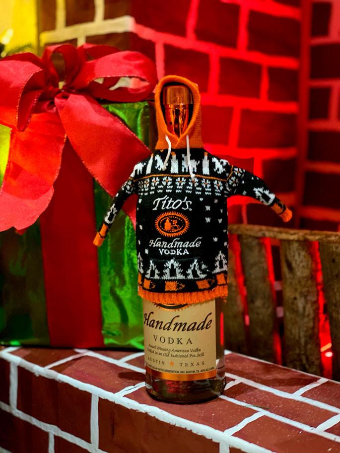 Tito's Handmade Vodka Ugly Sweater Edition