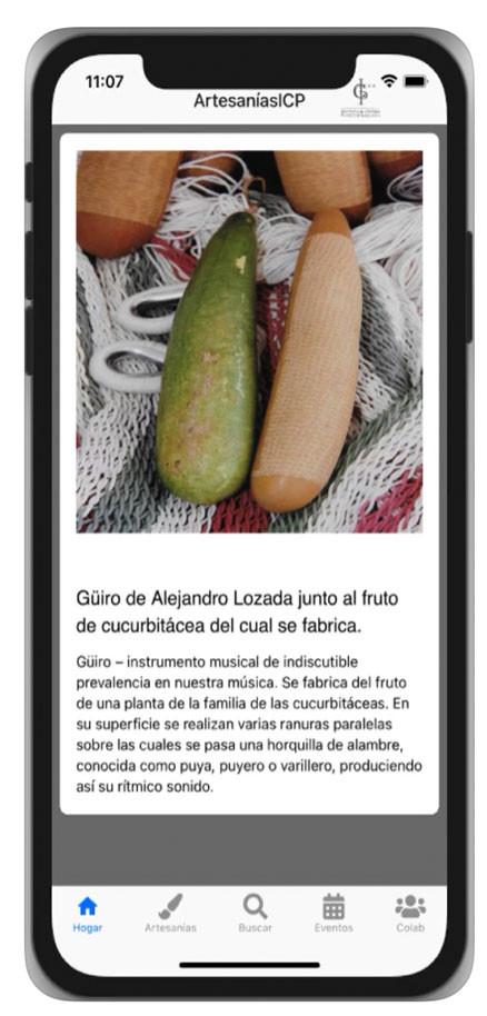 artesaniasicp, app, aplicación móvil