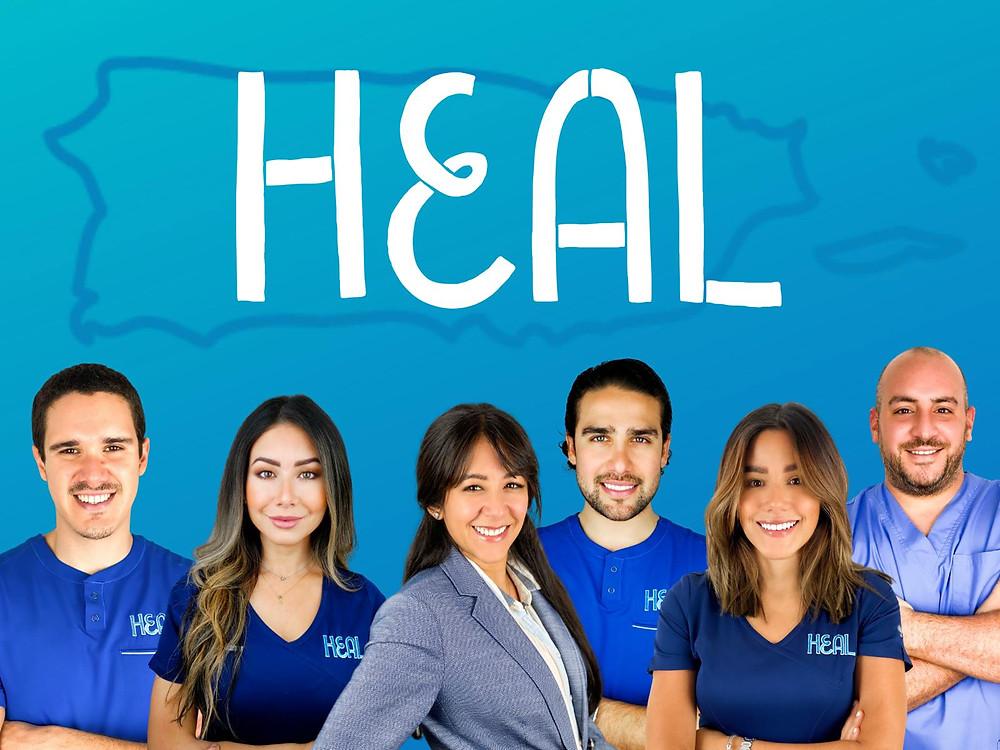 Heal Inc. organización sin fines de lucro.