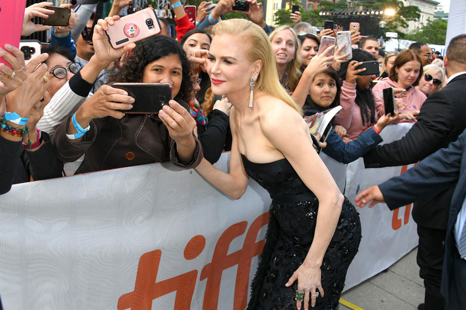 Nicole Kidman 2019, The Goldfinch (Red Carpet) Tiff Toronto.