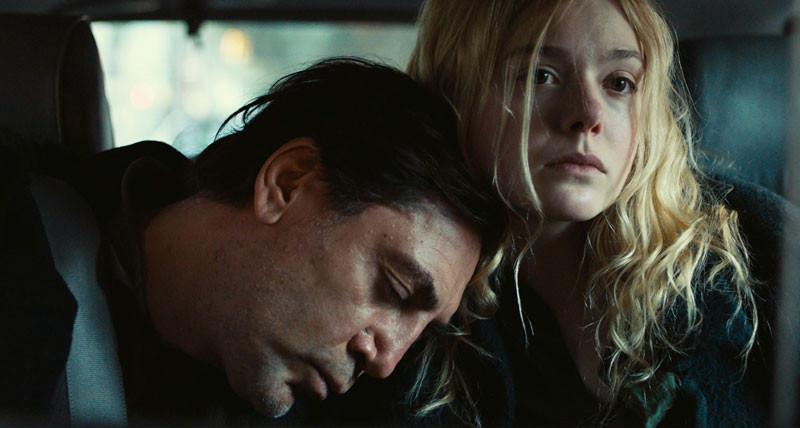 Elle Fanning, Javier Bardem 2020. The Roads Not Taken.