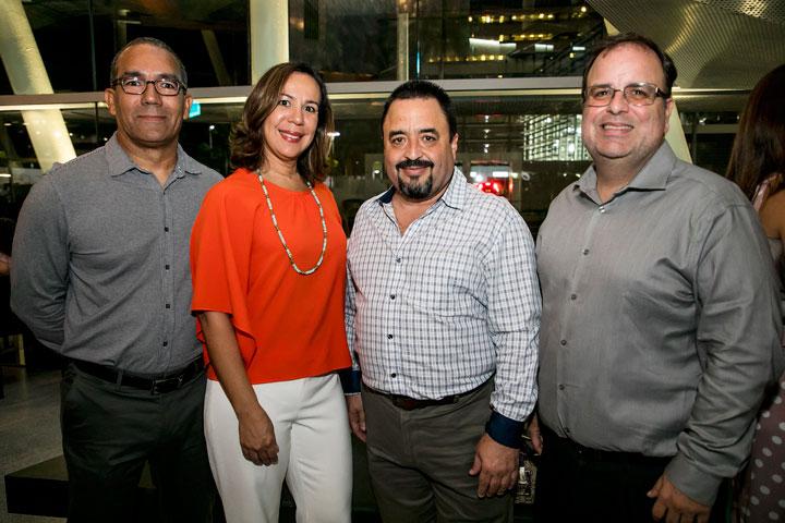 Arq Gilberto Ibarra, Diana Rodriguez, Luis Rolon y Jose Maldonado.