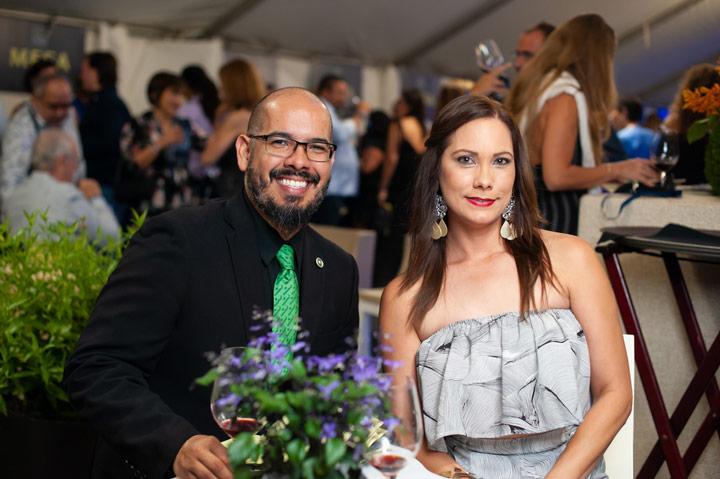 Lcda. Lorna Peña, Gustavo Caraballo.