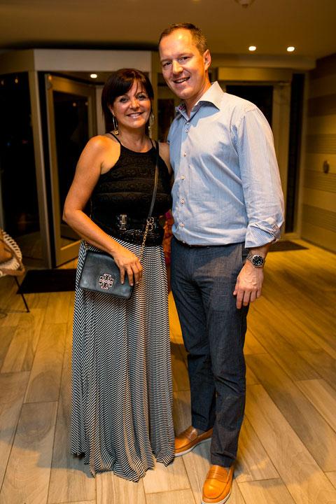Annette Oliveras y Pierre-Alex Maillard