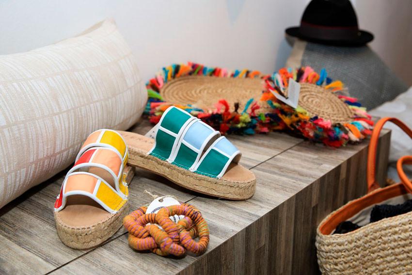 El arte de la sostenibilidad zapatos, Isleñas, retazo.