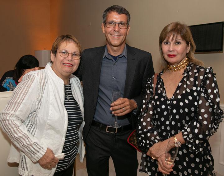 Chef Mirta Perez, Efrain Rosado, Norma Guadalupe.