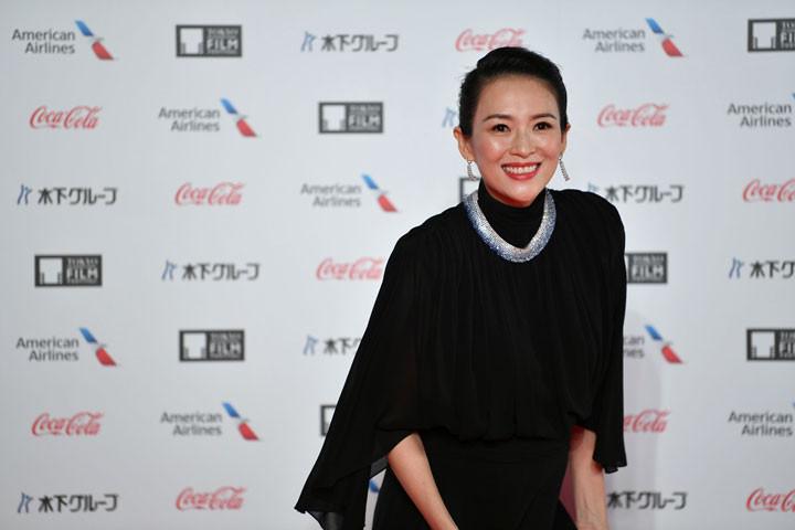 Zhang Ziyi 2019, Tokio Film Festival.
