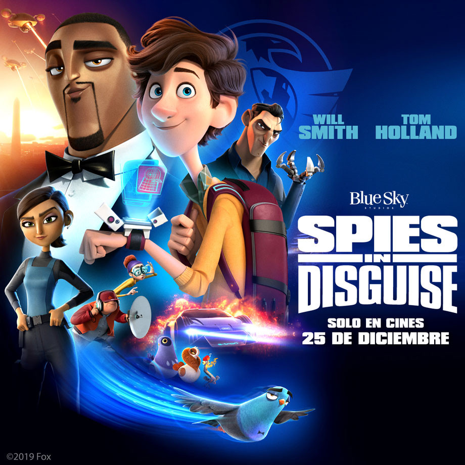 Fox Spies in Disguise