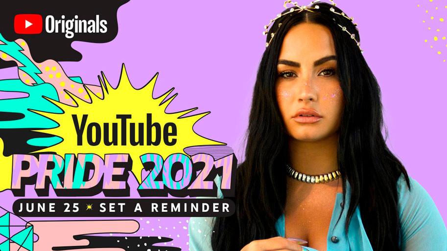 Demi Lovato, YouTube Pride 2021