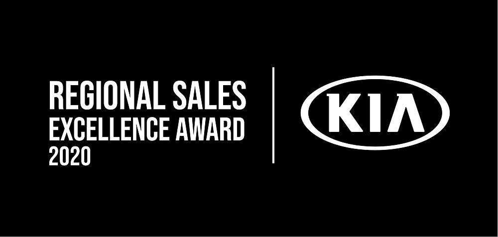 Regional Sales Excellence Award, KIA.
