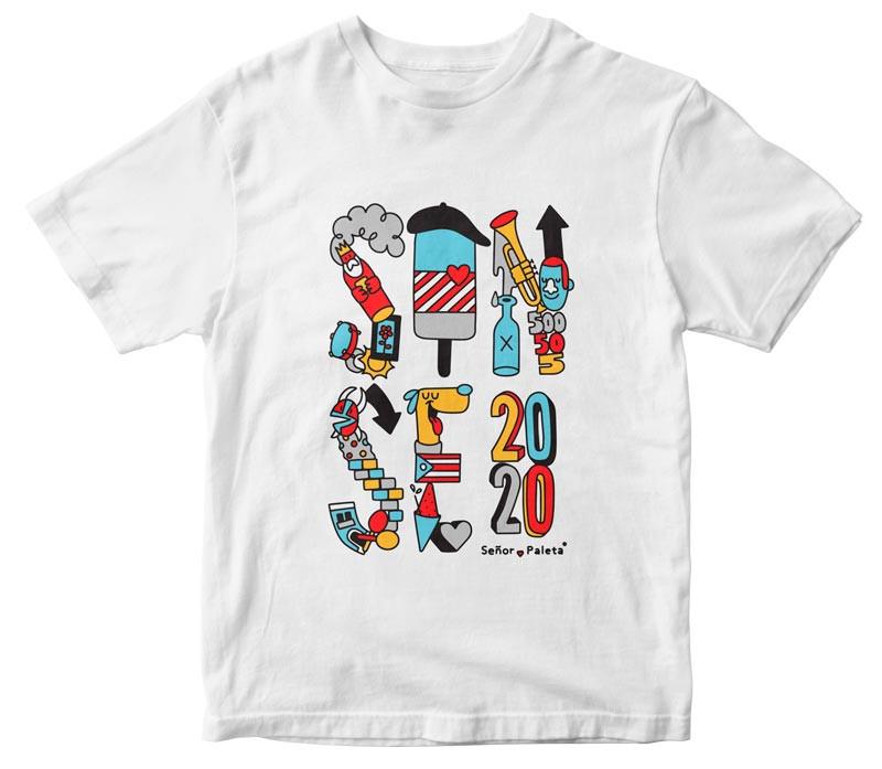 Camiseta Sanse - Senor Paleta
