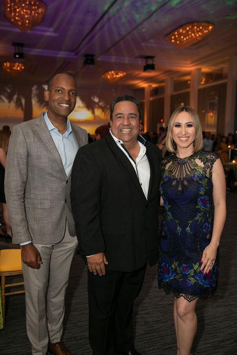 Julio Rivera Saniel, Luis Rivera y Milly Mendez
