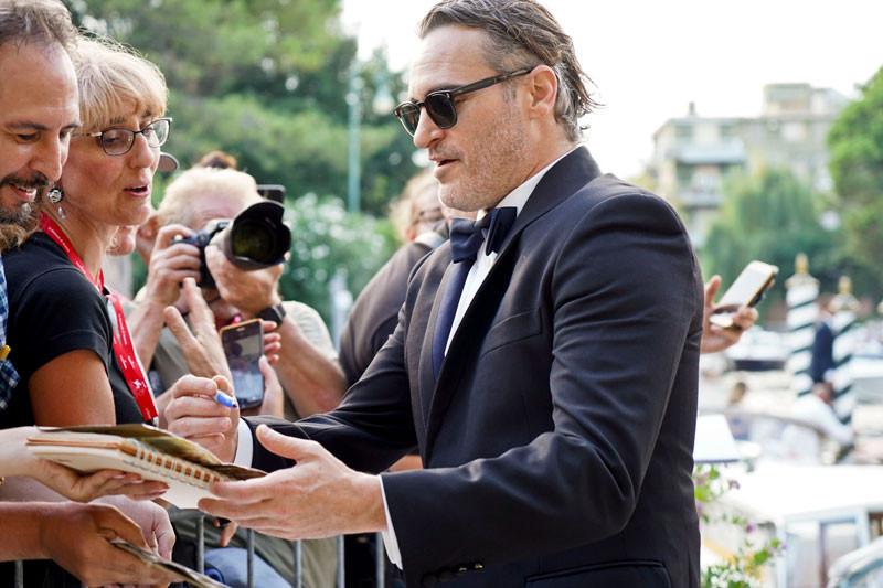 Joaquin Phoenix, Venice Film Festival 2019.