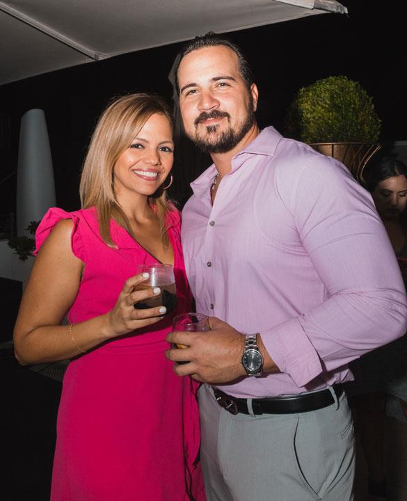 Tania Escobar, José Fernandez