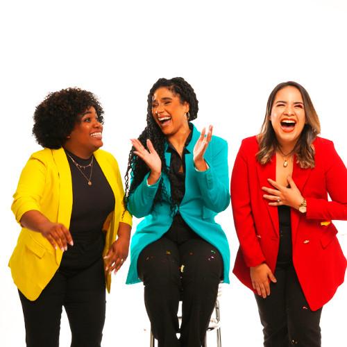 De izquierda a derecha: Cecil M. Maldonado, Bianca L. Lugo y Adriana Cabral, fundadoras de ¡FUA!