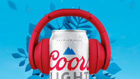 """COORS LIGHT LE PONE RITMO A LOS MOMENTOS """"CHILL"""""""