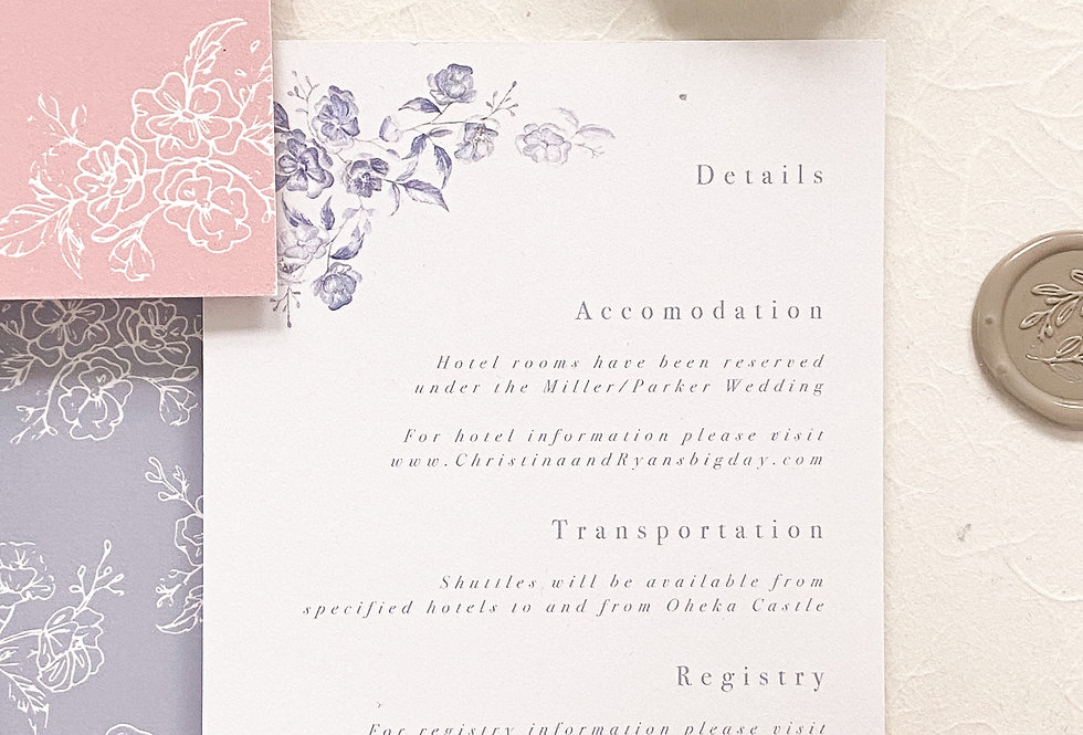 Anabelle Details Card