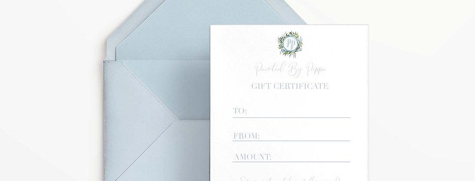 $50 Digital Gift Certificate