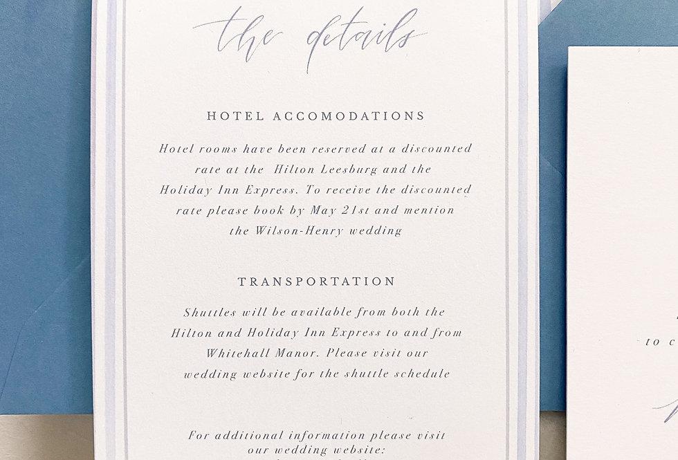Gwenyth Details Card