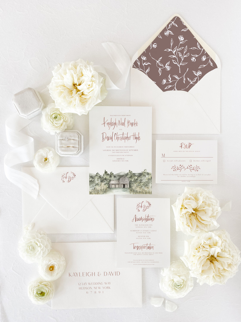 Painted By Pippa | Custom Watercolor Wed