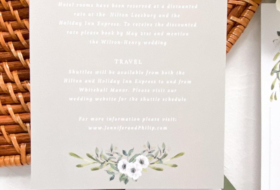 Maisie Details Card
