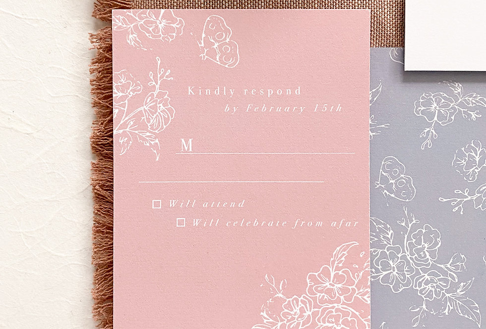 Anabelle RSVP Card
