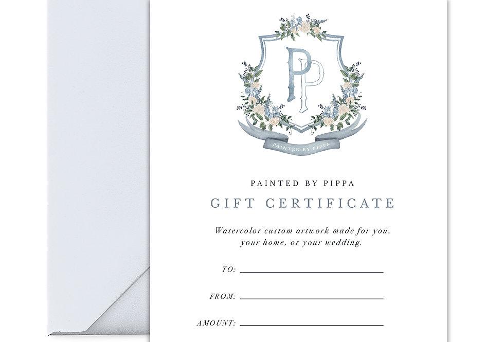 $250 Digital Gift Certificate