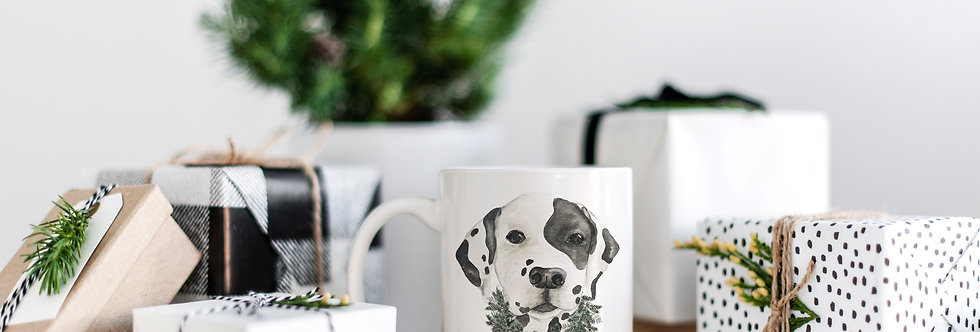 Christmas Pup Mug