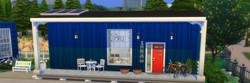 Blue Tiny Home Concept
