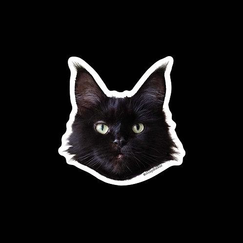 """2"""" Dahlia Face Sticker"""