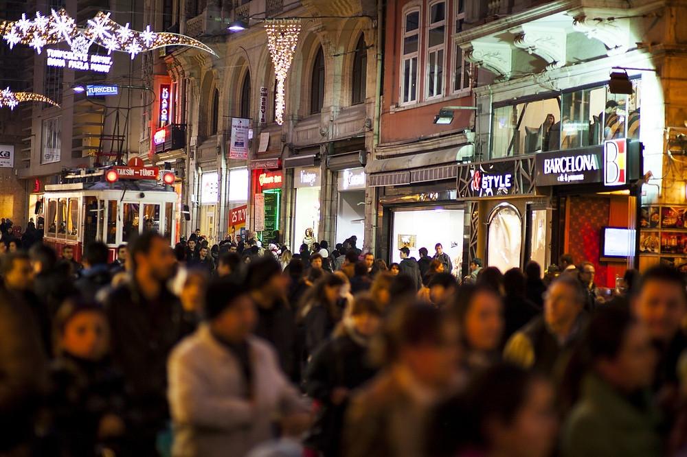 Улица Истикляль, Стамбул, Турция