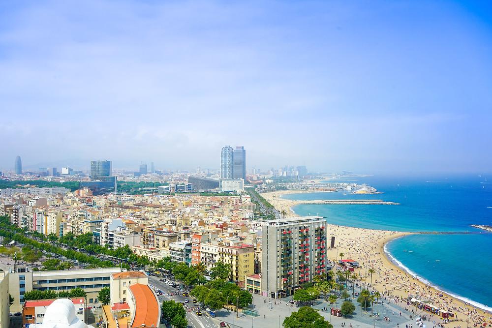 Пляжи Барселоны, Испания