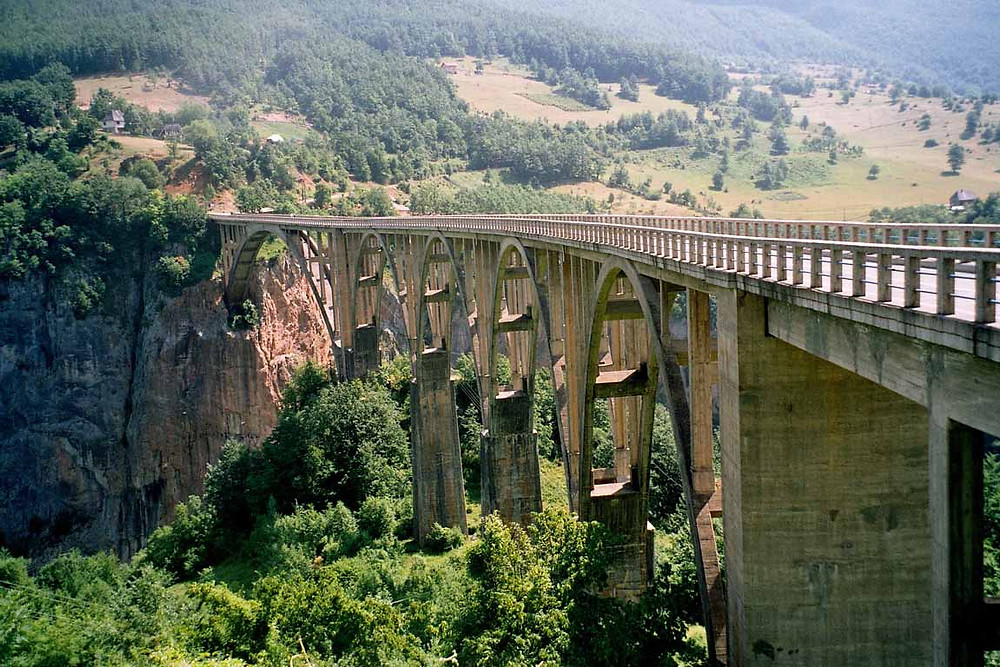 Мост Джуржевича, Черногория