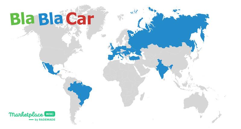 География BlaBlaCar