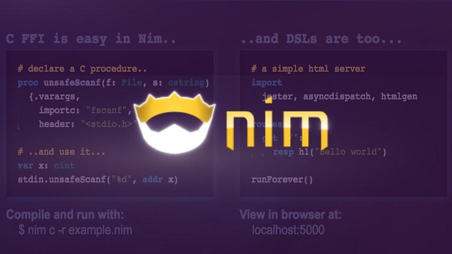 Язык программирования Nim