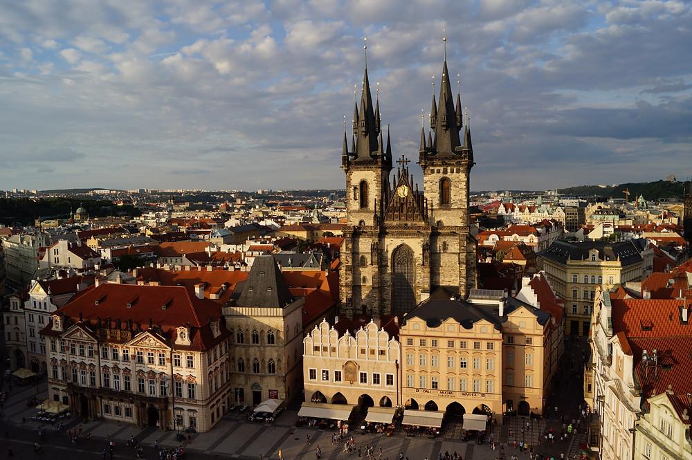 Староместская площадь, Прага, Чехия