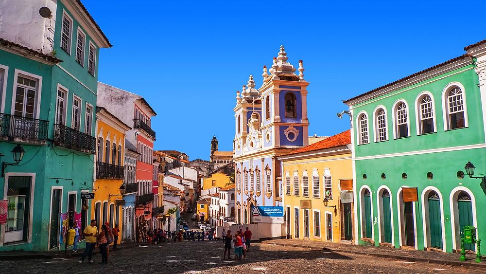 Исторический центр Сальвадор-ди-Баия