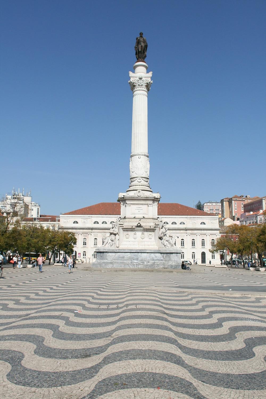 Площадь Россио, Лиссабон, Португалия