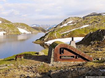 Эта маленькая хижина в Норвегии – мечта каждого интроверта!