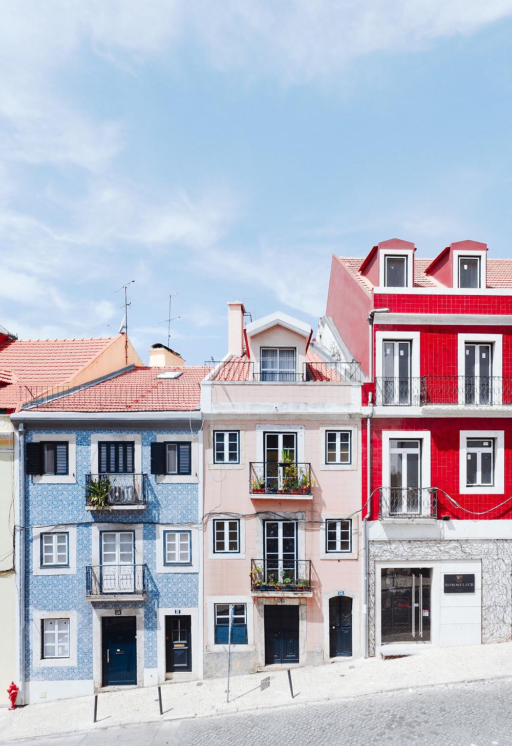 Улицы Лиссабона, Португалия