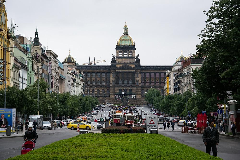 Вацлавская площадь, Прага, Чехия