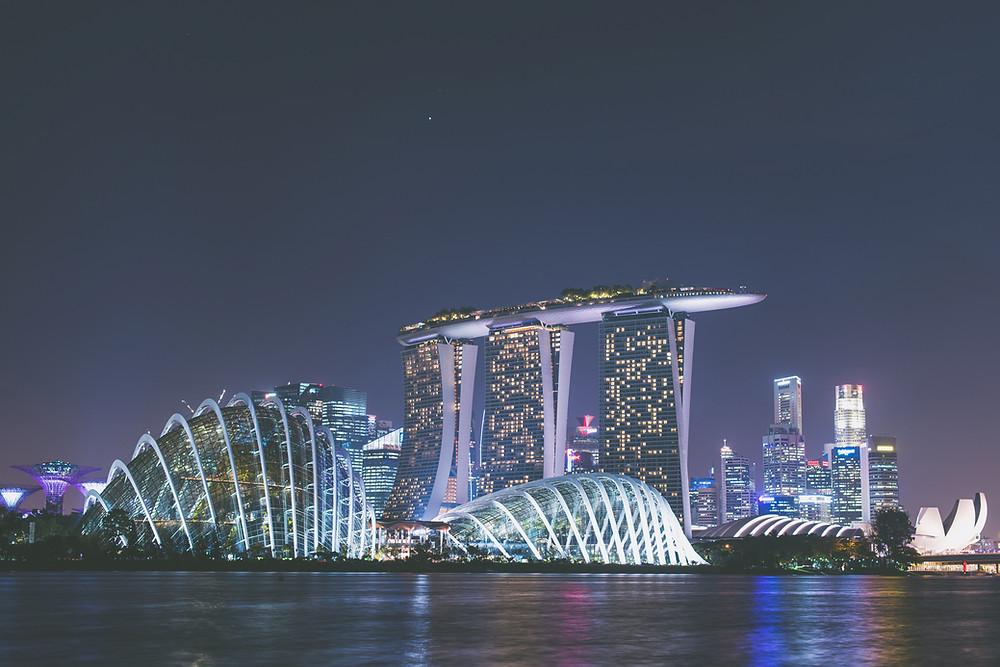 Забронировать отель, забронировать номер в отеле, Marina Bay Sands