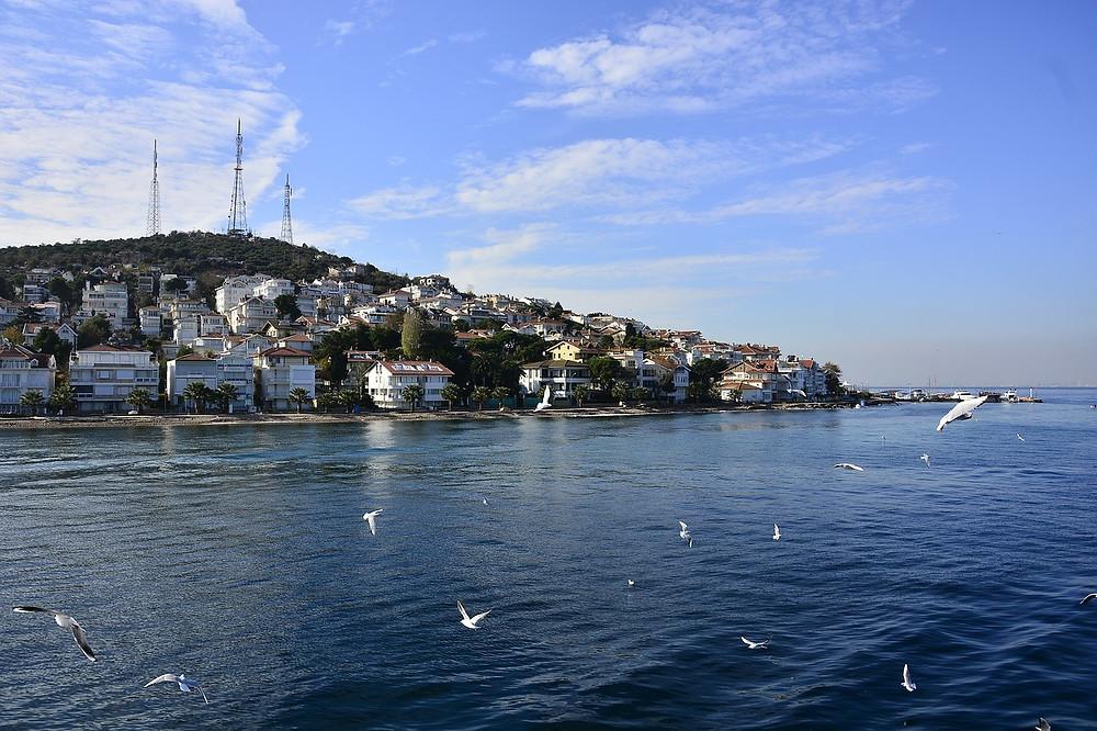 Вид на Принцевы острова, Стамбул, Турция