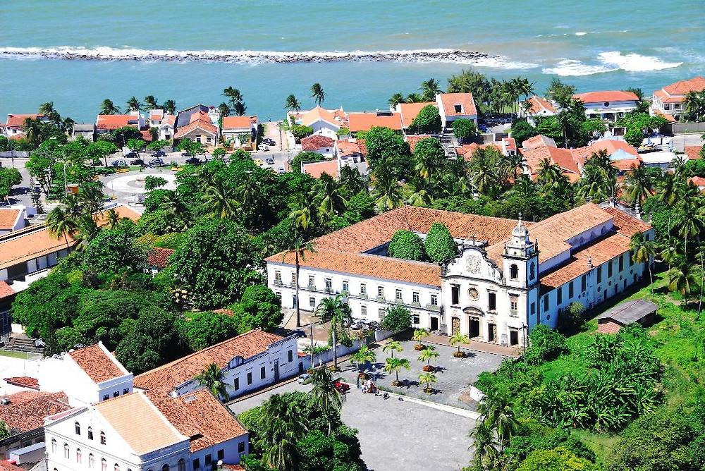 Город Олинда в Бразилии