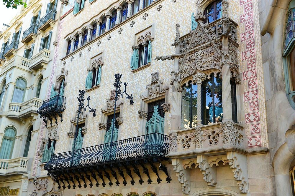 Дом Амалье, Барселона, Испания