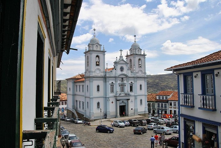 Исторический центр Диамантины