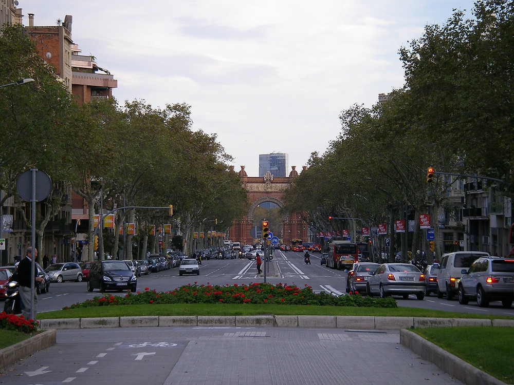 Бульвар Рамбла, Барселона, Испания