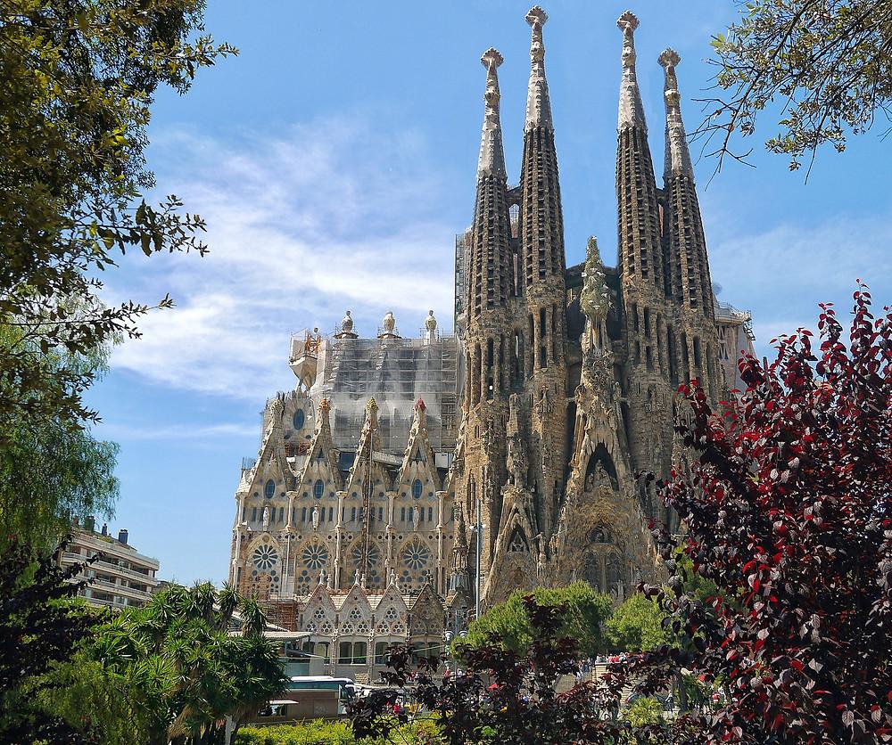 Собор Святого Семейства, Барселона, Испания